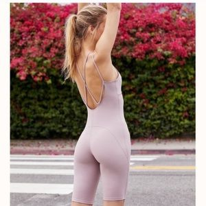 Free People | NWT Glow One Piece Body Suit Shorts